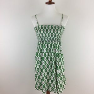 Juicy Couture Green Patterned Sundress